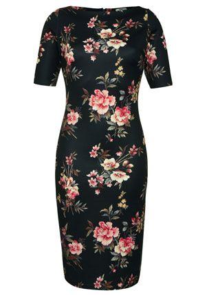 F&F Limited Edition Winter Floral Print Scuba Dress - £25