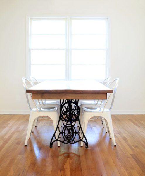 17 meilleures id es propos de tables de machine coudre for Table salle a manger ancienne