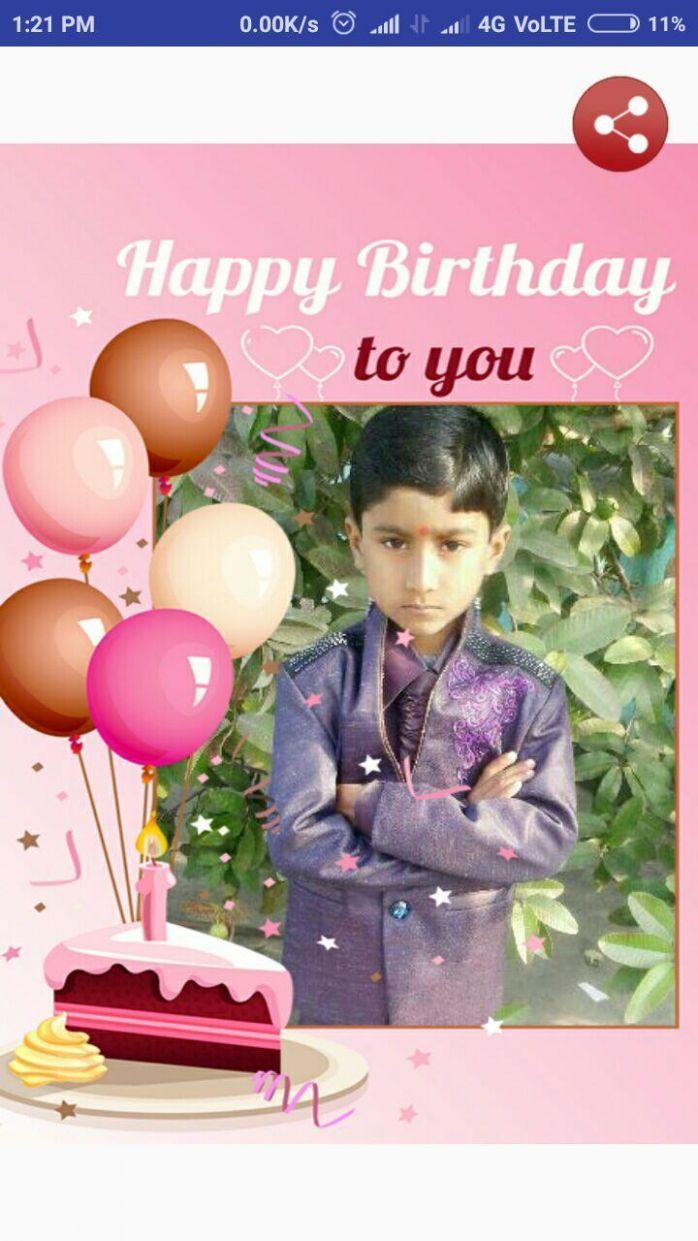 5 Online Happy Birthday Card Maker With Photo di 5