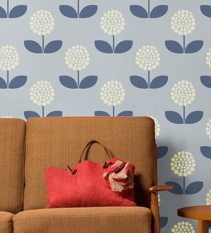 Vintage Chic Flowers 408: Reusable Wall Stencils For DIY Decor   Decorative Wall  Stencil,