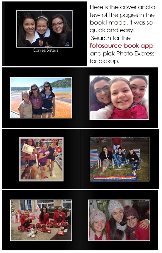 Cool new photobook app that lets you make a soft cover photobook in minutes.