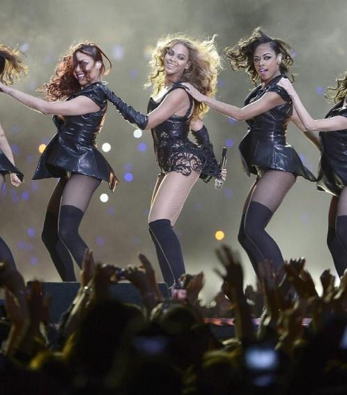 Beyonce y las Destiny´s Child deslumbran en el Super Bowl XLVII