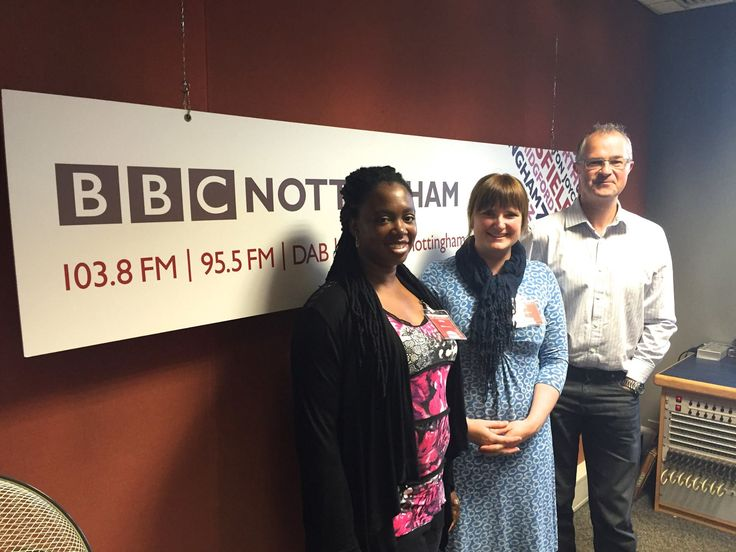 On BBC Radio Nottingham with Mark Dennison and Annika Vessell.