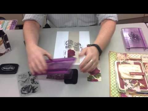 James's crafty hideaway : Stamping & Colouring Ribbon