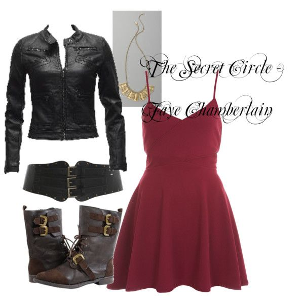 The Secret Circle Fashion Style: Faye Chamberlain, created by missrinz on Polyvore