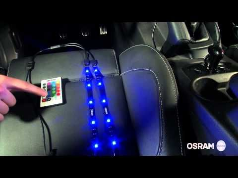 New OSRAM LEDambient Tuning Lights Video Tutorial YouTube