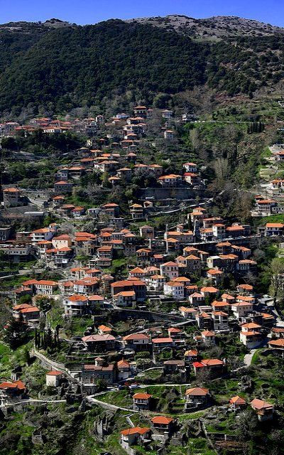 Lagadia village, Mountainous Arcadia, Greece | by Dimtze