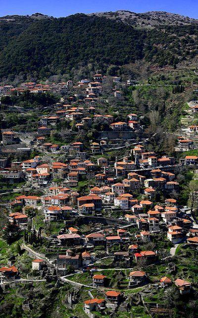 Lagadia village, Mountainous Arcadia, Greece | by Dimtze