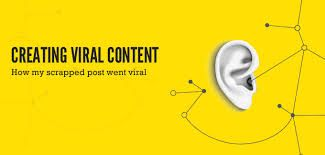 Image result for create viral content