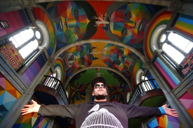 Dit Spaanse kerkje is nu de Sixtijnse kapel voor skaters | Street art | De Morgen
