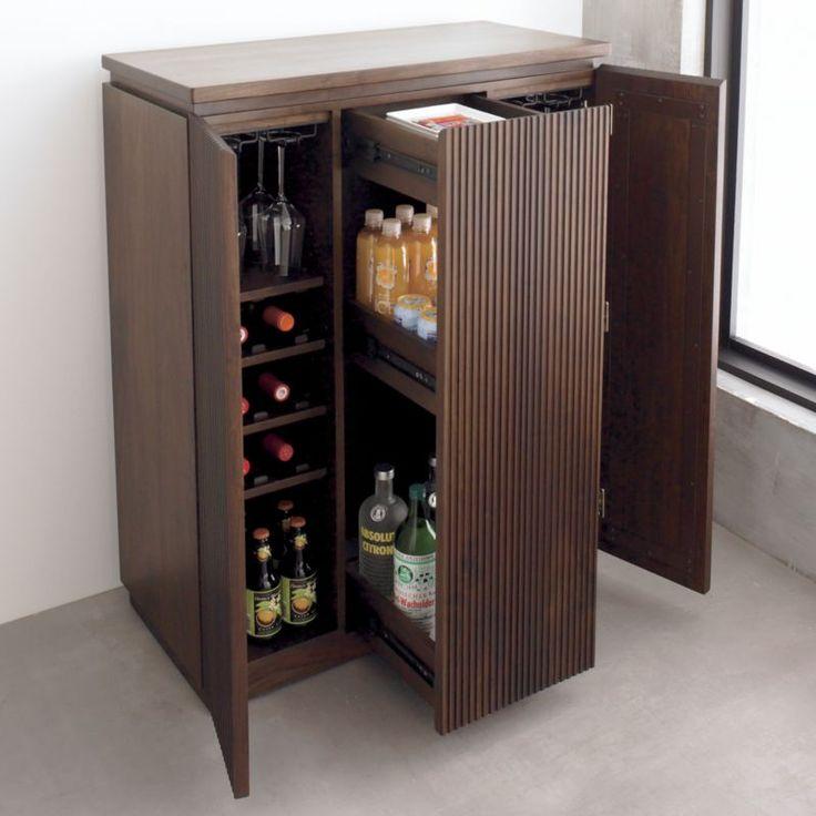 Monaco Bar Cabinet Crate And Barrel Bar Furniture