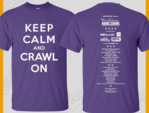 Midtown Bar Crawl 2013 Swag: Commemorative T-Shirt ... Sorority Shirt Quotes