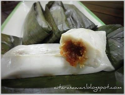 Recipes today - Kuih Tepung Bungkus