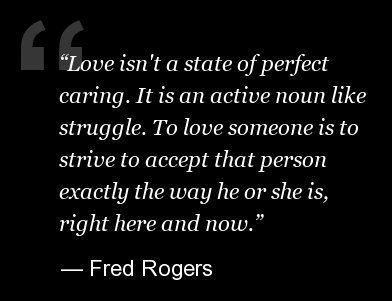 Love via Mr. Rogers #mr_rogers #quotes #love