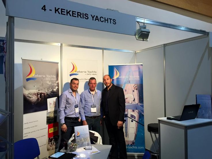 Kekeris Yachts_Croatia International charter Expo 2015. We would like to inform you that our family company Kekeris Yachts attended the International Charter Expo in Opatija of Croatia on 06.02.2015 until 08.02.2015.  It was a great opportunity to meet our partners from all over the world and we are grateful for our participation! Special thanks to all our collaborators who visited our stand and discussed with us.