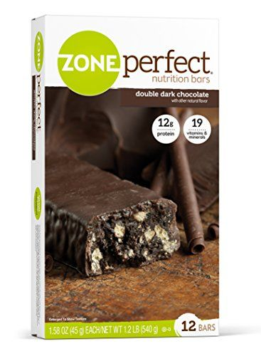 ZonePerfect Nutrition Bars Double Dark Chocolate 1.58 oz 12 Count
