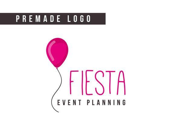 Premade Logo  event planner logo logo design by HayahDesigns