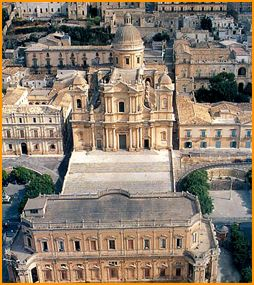 Cathedral, Noto, Siracusa, Sicily.