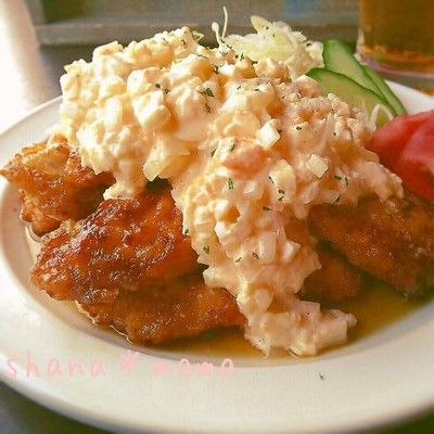 'm Not fried ~ ♪ delicious tartar plenty Chicken Nanban ♪