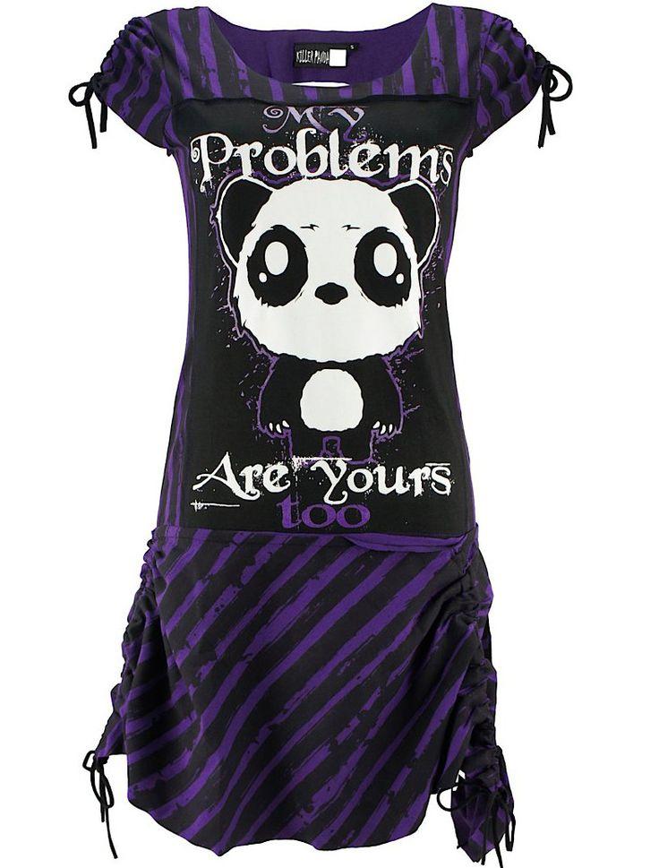 Vestido Kawaii Problems  #pastel #goth #moda #gotica #goth #panda #xtremonline