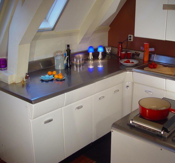 Retro keuken van IDFIX/BCL - American Kitchens - keuken ideeën ...