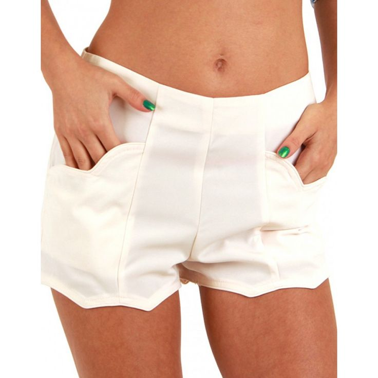 Plain Short -HOT & DELICIOUS - Shorts - Women