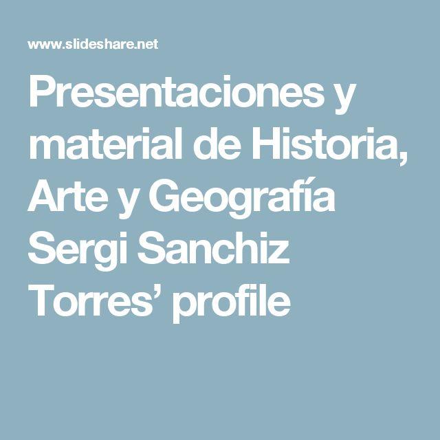 Presentaciones y material de Historia, Arte y Geografía Sergi Sanchiz Torres' profile