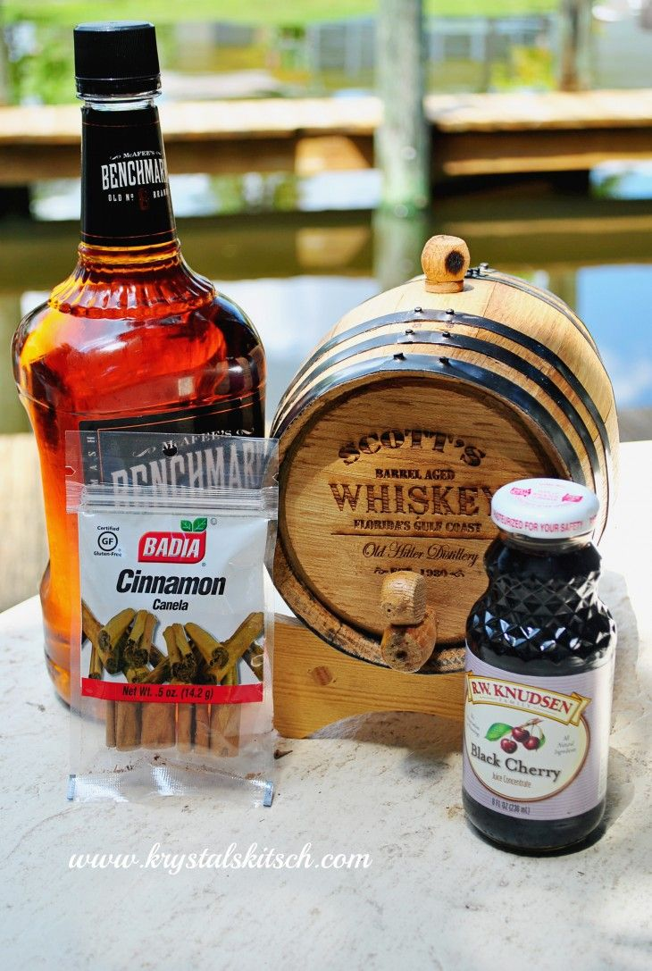 This personalized whiskey barrel is a great gift for husbands or couples!