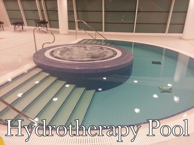 hydrotherapy pool are warm water pool specially used by physiotherapists while