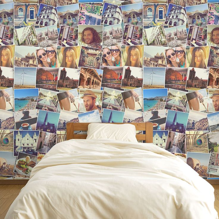 Personalised Wallpaper With Your Photos. Custom Collage Wallpaper UK
