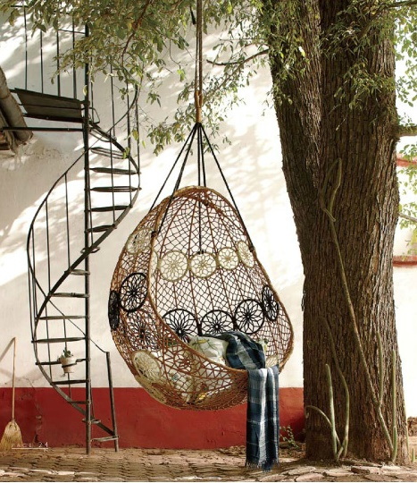 Called a Knotted Melati Hanging Chair.