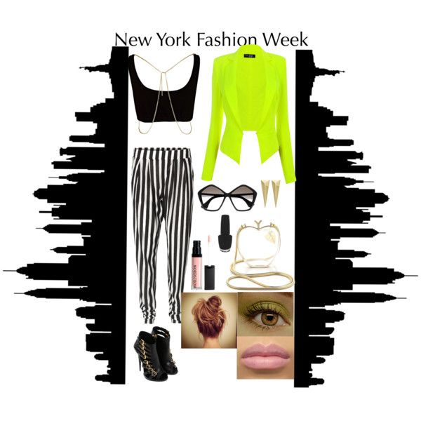 """Send Me to New York Fashion Week"" by dawa-tsering-lama on Polyvore"