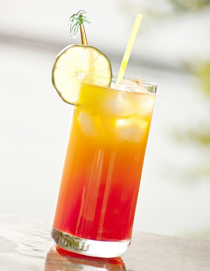 Recette Cocktail Bora Bora sans alcool : Versez les jus d'ananas, de fruits de la passion, de citron et la grenadine dans un shaker rempli de glace. Secouez énergiquement. Versez dans un verre en filtrant les glaçons. Servez immédiatement avec une paille....