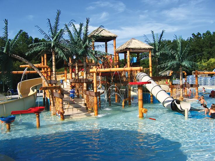 The perfect summer escape to James Island County Park's Splash Zone!
