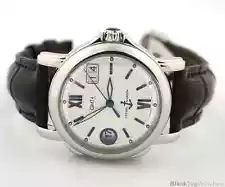 Ulysse Nardin  GMT  Big Date Steel Automatic Silver Dial  223-88/380
