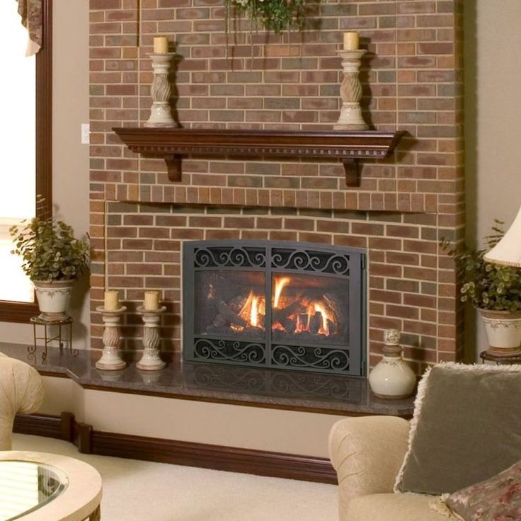 226 best Gas Fireplace images on Pinterest | Gas fireplaces ...