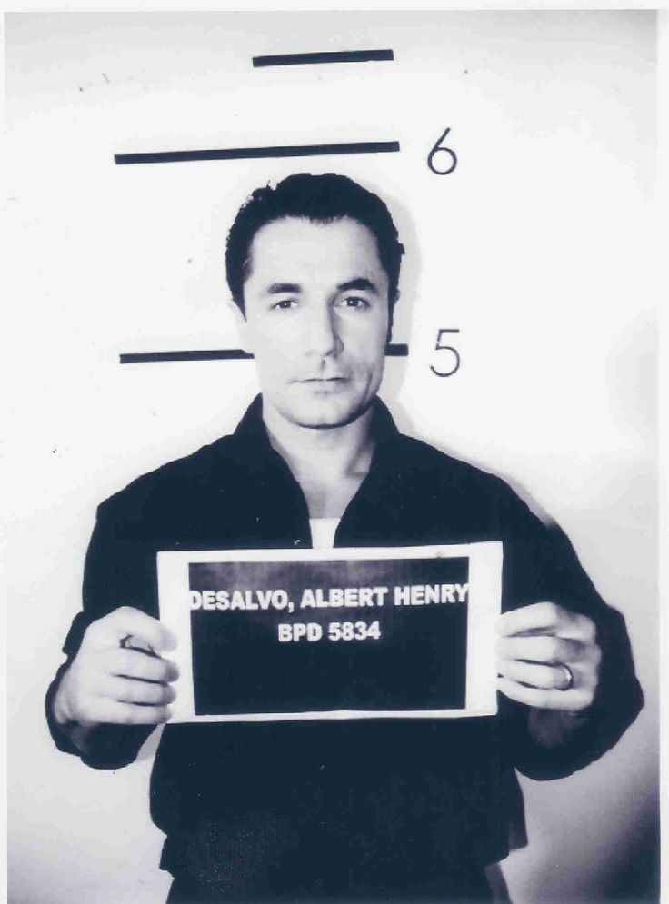 Boston Strangler-Albert Desalvo mug shot