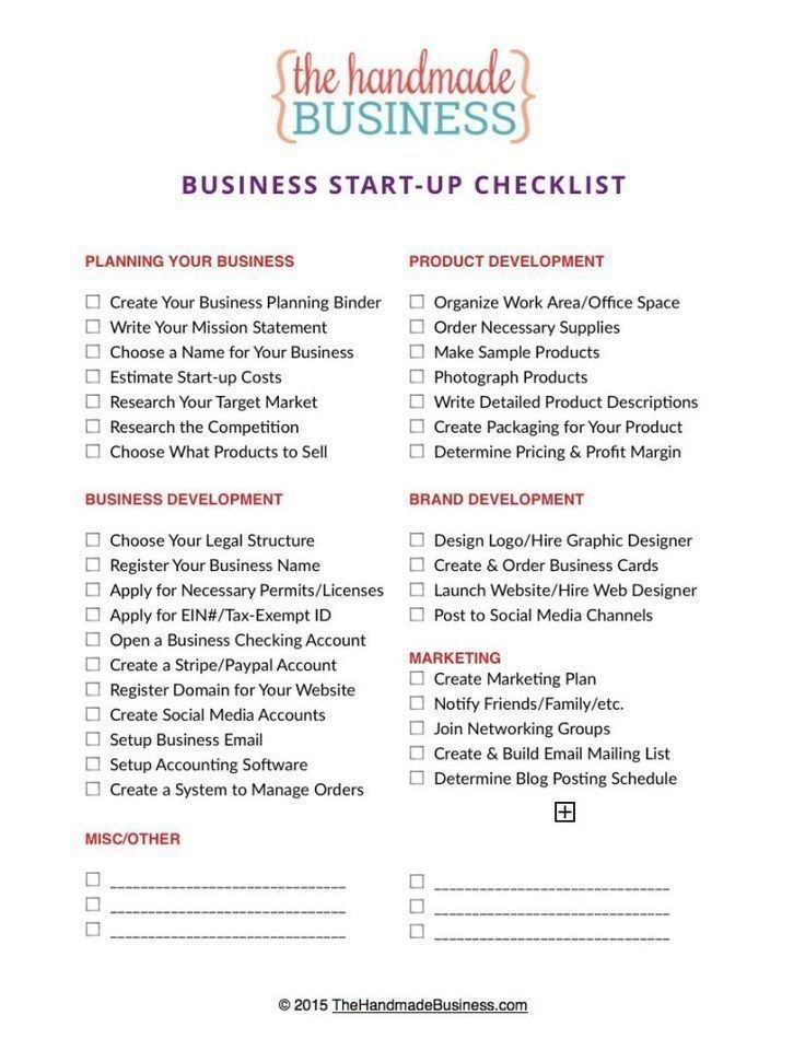 Pin By Heather Corn On Salon Vision Board In 2020 Business Checklist Startup Business Plan Small Business Organization