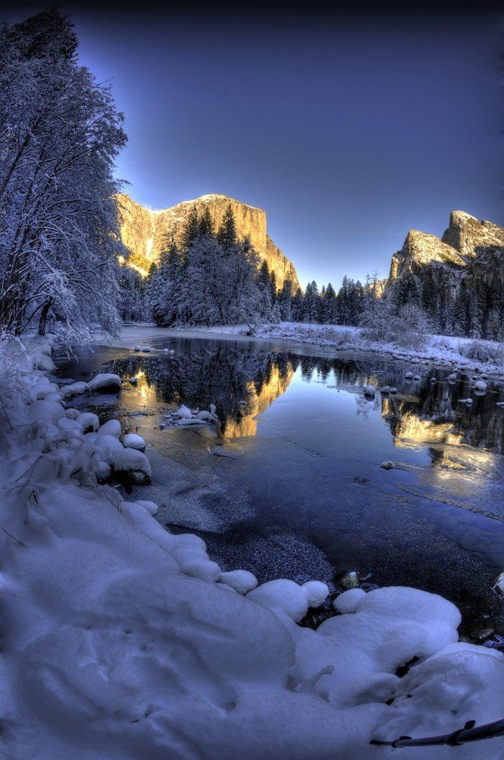 The magic of Yosimite winter: I want to take my kids here some day...even though they are grown.