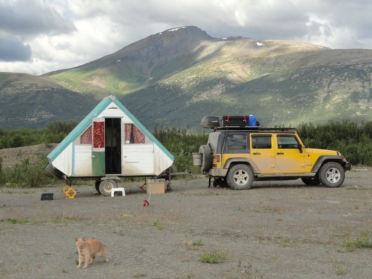 17 Best images about A-frame Camper Trailers on Pinterest