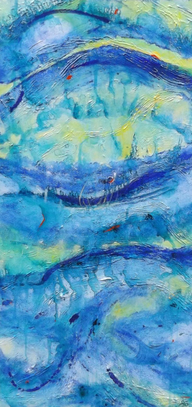 Cape Reinga Ocean Series No 2, textural, moving, spiritual connections to energy. https://www.facebook.com/chris.keenan.370