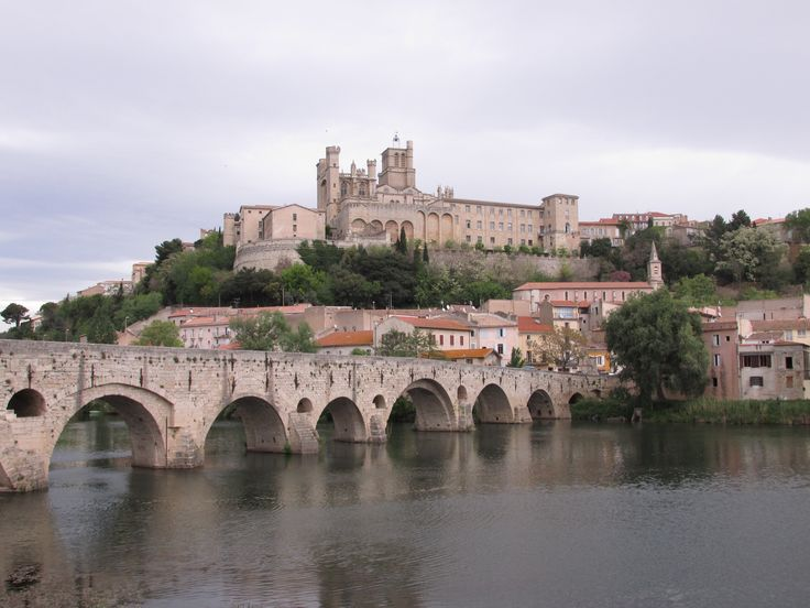 Béziers in Languedoc-Roussillon