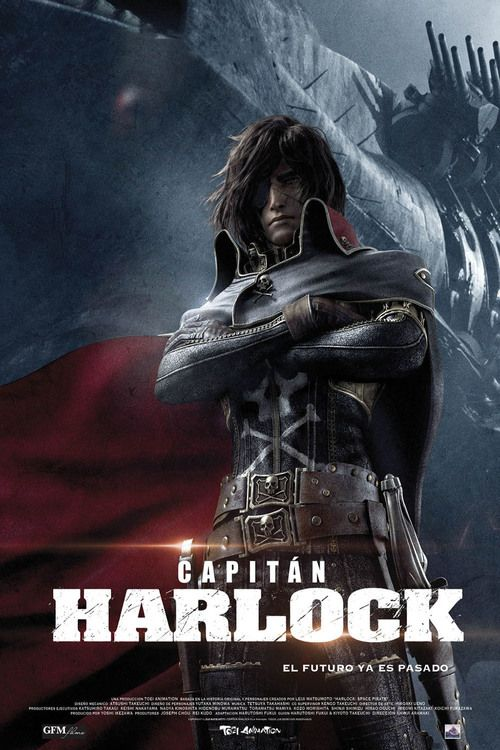 Watch Space Pirate Captain Harlock 2013 Full Movie Online Free