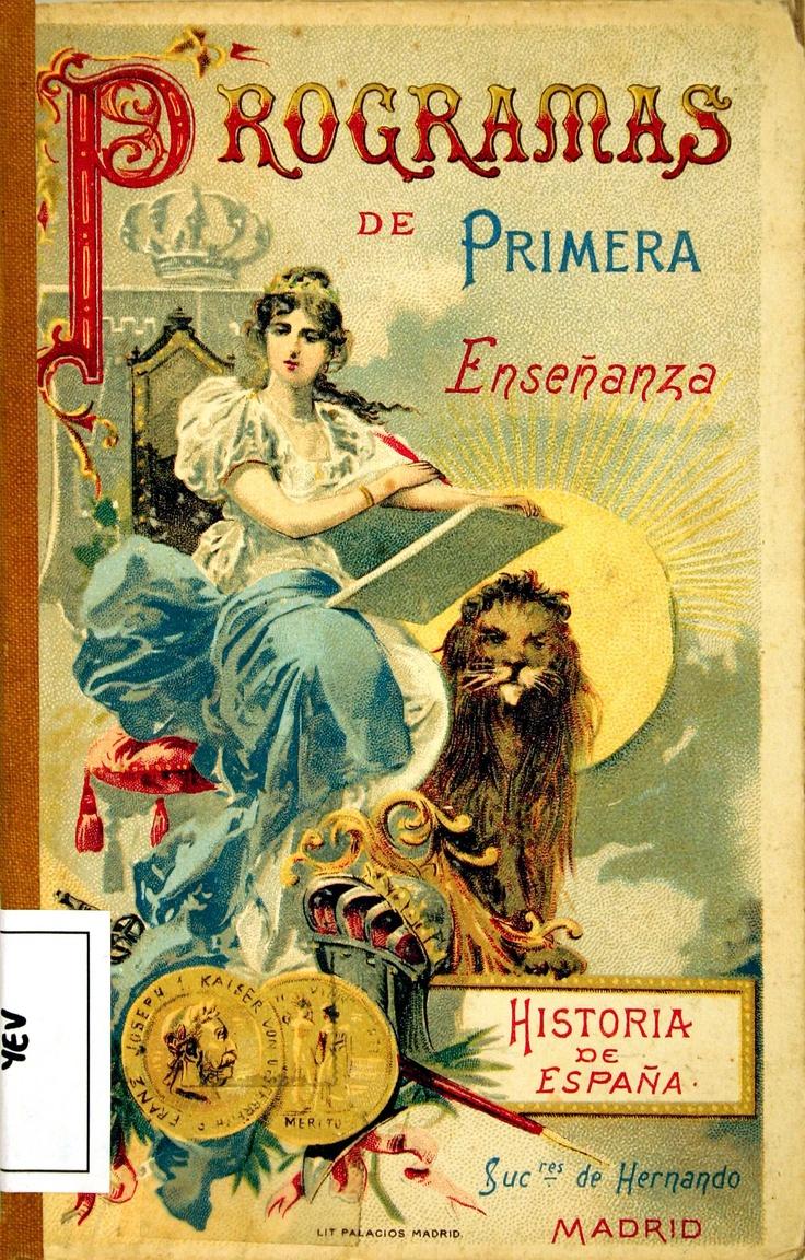 Programas de primera enseñanza: historia de España/ por Carlos Yeves (1916)