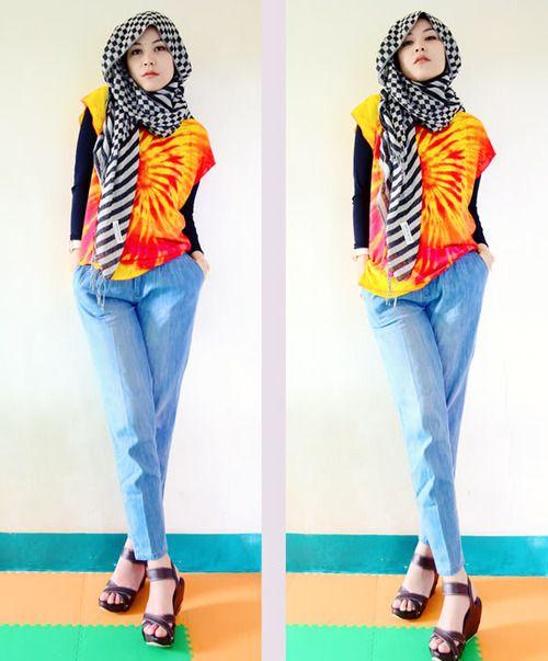 Hana Tjima - hijab style