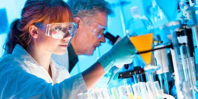 Trabajar en un laboratorio