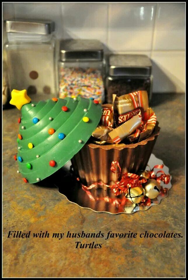 Edible Christmas tree dish wilton cupcake pan