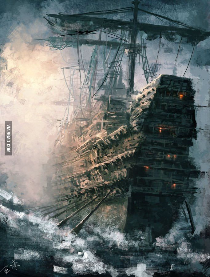 The Flying Dutchman - 9GAG