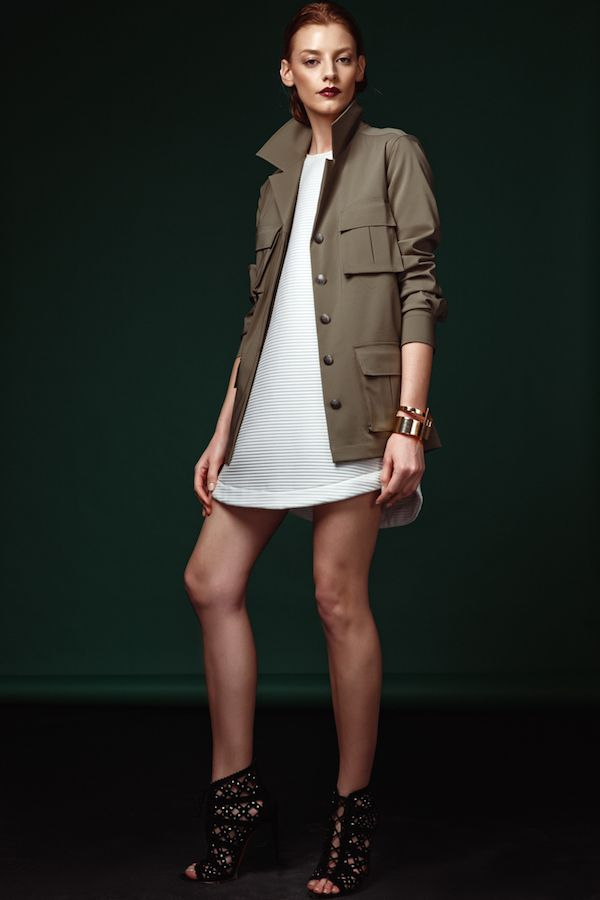 #pnkcasual #pnkworld  #ss15 #fashion #armygreen #militaryargument
