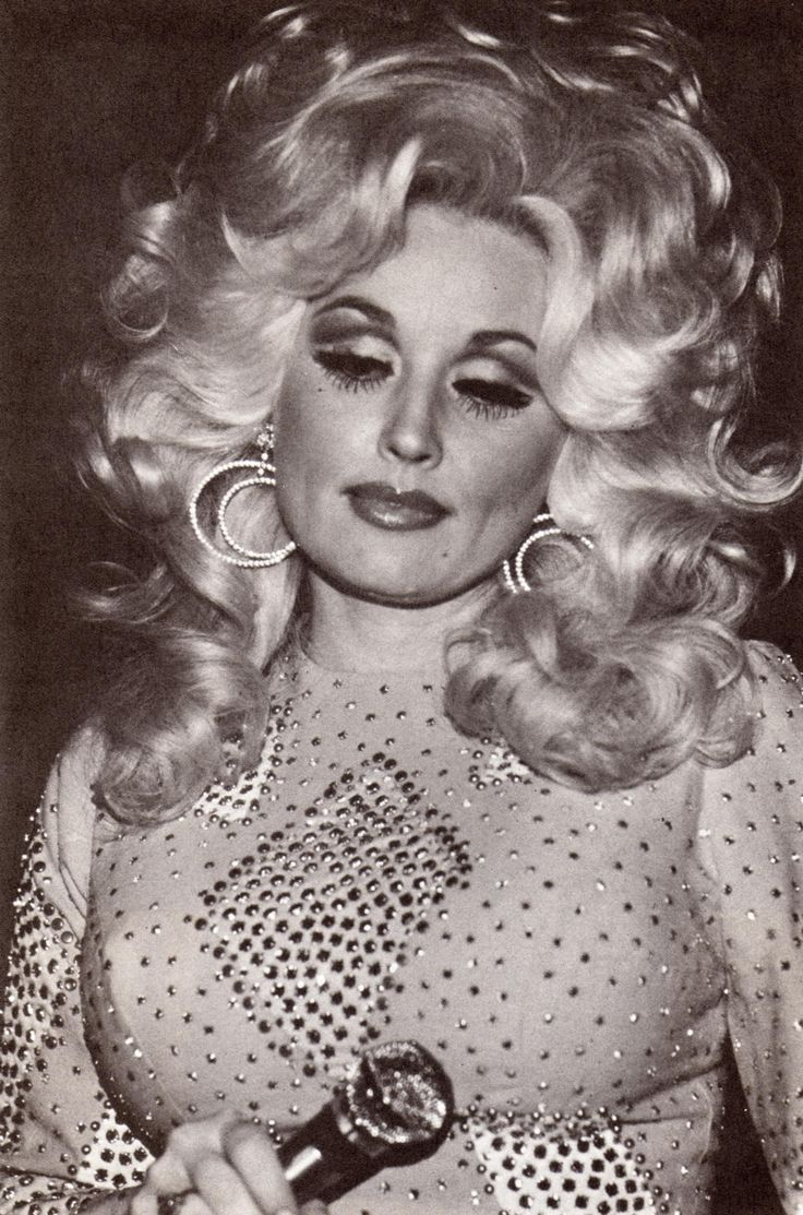 """It's a good thing I was born a girl, otherwise I'd be a drag queen."" -Dolly Parton"